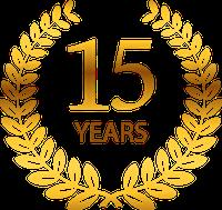 15 years New